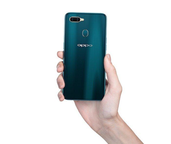 OPPO A7 ra mắt: hai phiên bản bộ nhớ, camera kép, pin 4.230mAh