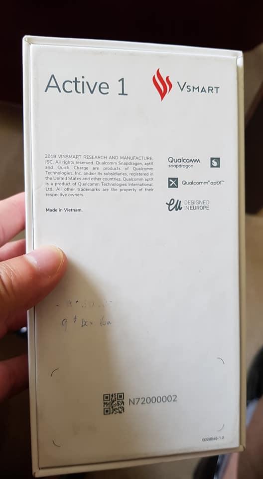 Smartphone Vsmart giá 6 triệu đồng lộ diện
