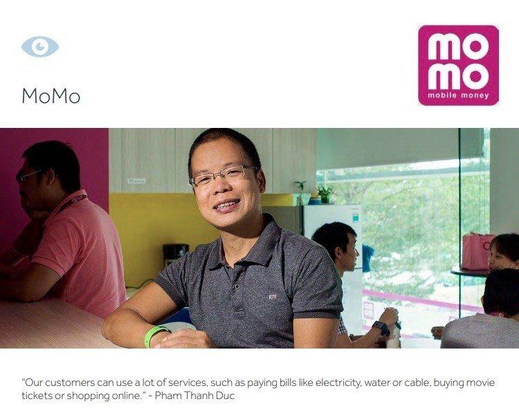 Ví MoMo vào Top 100 Công ty Fintech toàn cầu (Fintech100)