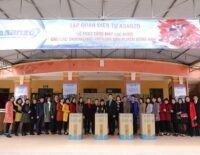Asanzo trao tặng máy lọc nước cho các trường học tại Hà Nội
