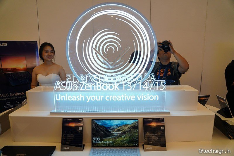 ASUS tổ chức triển lãm Zen Gallery, ra mắt ASUS ZenBook 13 / 14 / 15