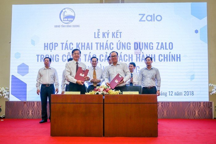 Bình Dương dùng Zalo vào cải cách hành chính, xây dựng mô hình Thành phố thông minh