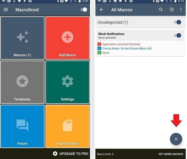 Cách tắt thông báo khi đang sử dụng camera trên Android