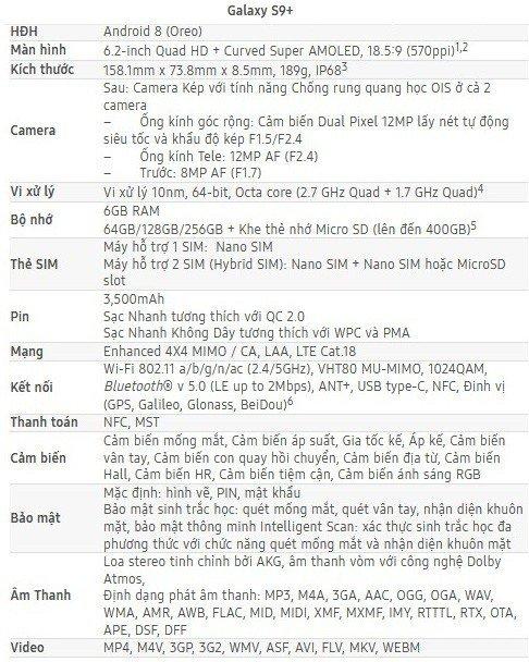 Chính thức ra mắt Samsung Galaxy S9+ màu vang đỏ tại Việt Nam