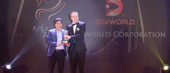 Digiworld nhận giải thưởng doanh nghiệp kinh doanh xuất sắc Châu Á 2018