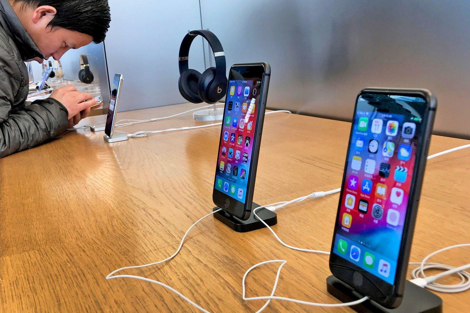 Đức cấm bán một số mẫu iPhone