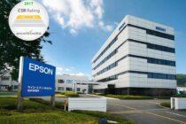 Epson được xếp hạng Sao Vàng EcoVadis CSR