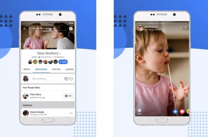 Facebook tung tính năng Group Stories cho tất cả người dùng