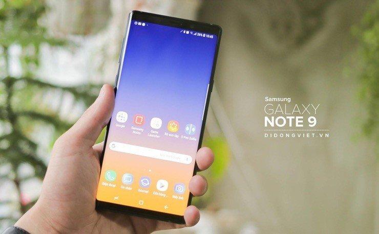 Galaxy Note9 512GB giảm 7 triệu, lên đời tiết kiệm 8,5 triệu