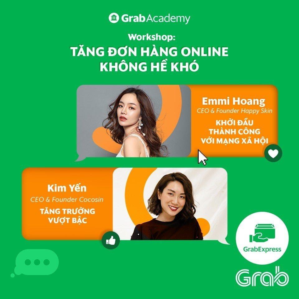 GrabAcademy: Khóa học trực tuyến về tiếp thị số cho đối tác và khách hàng kinh doanh online