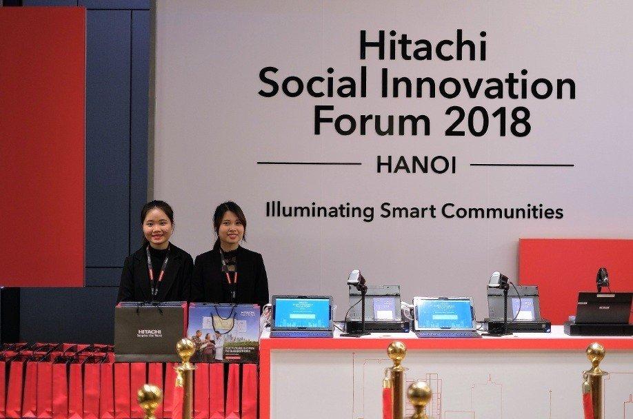 Hitachi tổ chức diễn đàn Đổi mới vì xã hội 2018 tại Hà Nội