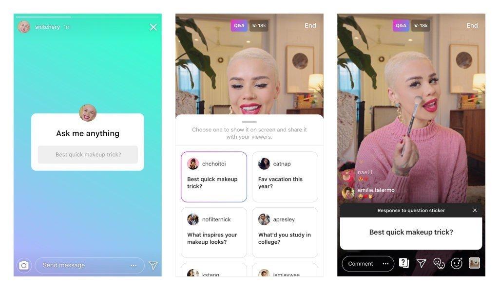 Instagram giới thiệu tính năng tương tác mới