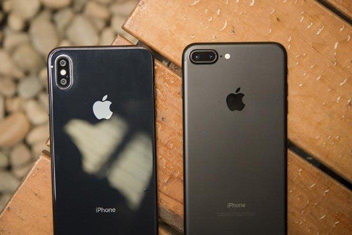 iPhone 7 Plus, iPhone X dẫn đầu sản phẩm bán chạy tháng 11