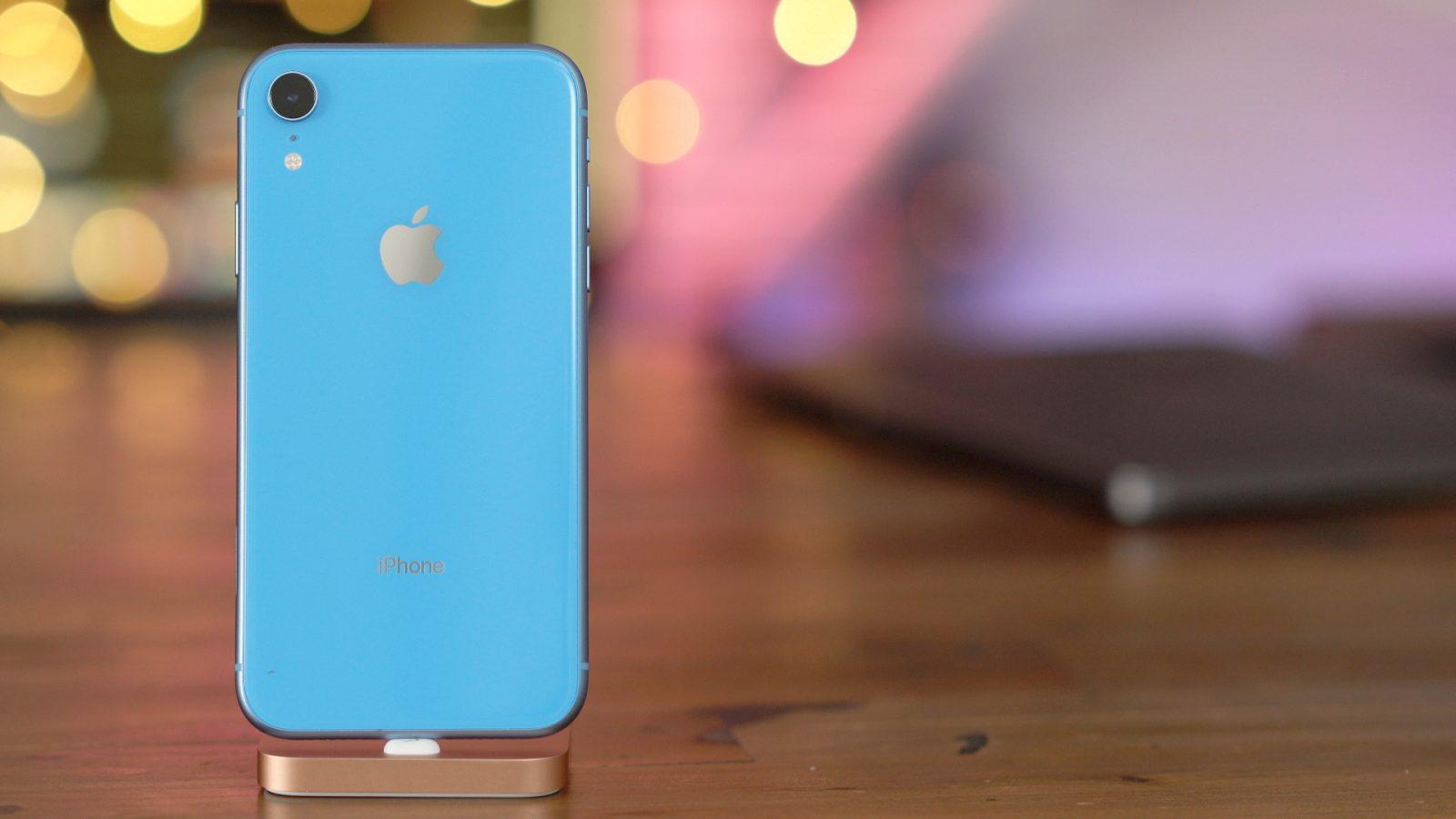 iPhone Xs và Xr tiêu thụ kém hơn các model 2017