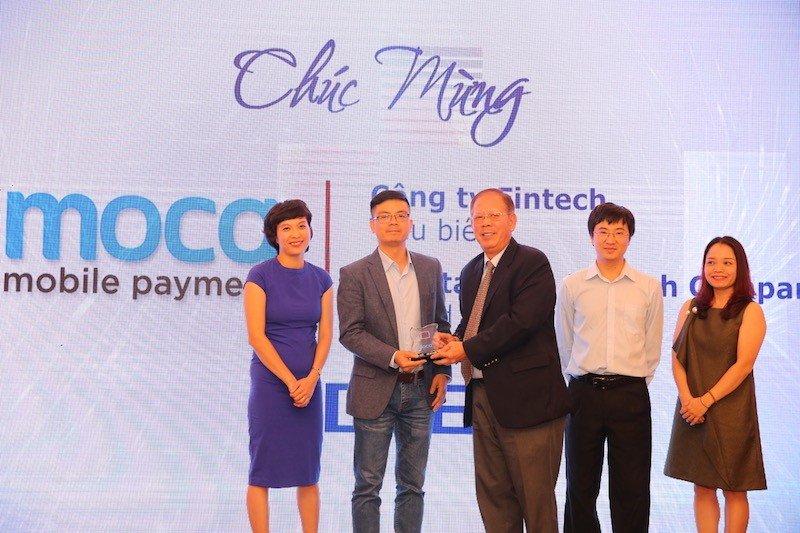 Moca được vinh danh Công ty Fintech tiêu biểu năm 2018