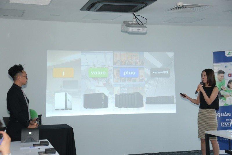Mstar Corp giới thiệu công nghệ quản trị dữ liệu của NAS Synology