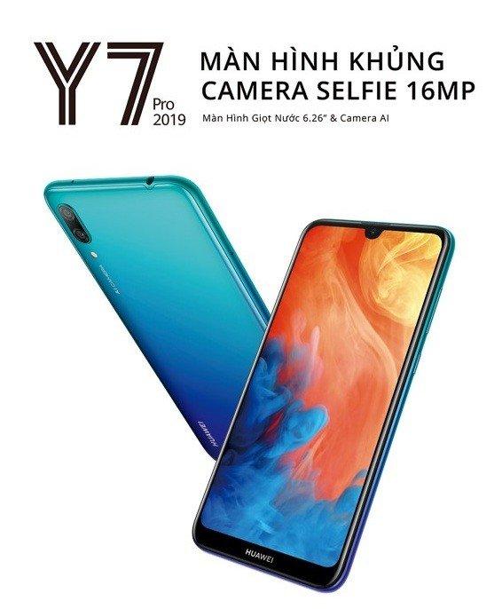 Với các nâng cấp mạnh mẽ, Huawei Y7 Pro 2019 được đánh giá là sản phẩm đáng mong đợi nhất đầu năm 2019 ở phân khúc phổ thông.