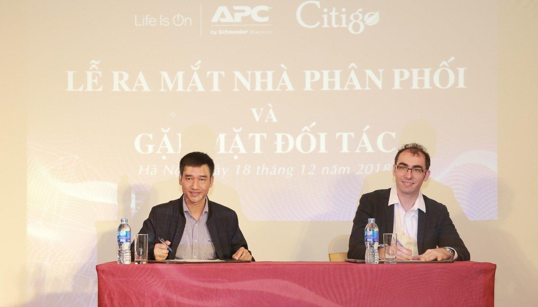 Schneider Electric ký kết hợp tác phân phối chiến lược với Citigo Power Việt Nam