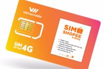 Vietnamobile ra mắt SIM 4G Shopee dung lượng 10GB/ngày