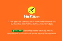 Thế Giới Di Động: Vuivui chuyển sang tên miền bachhoaxanh.com phù hợp hơn