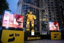 """Ứng dụng gọi xe """"be"""" lập mô hình Bumblebee lớn nhất Việt Nam"""