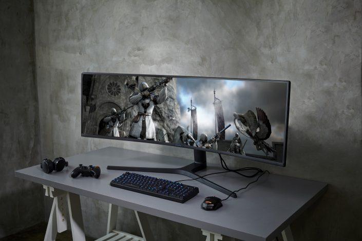 CES 2019: Dòng màn hình mới của Samsung cho không gian hiện đại và trải nghiệm game thế hệ mới