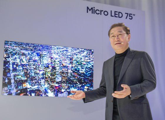 CES 2019: Samsung tiết lộ tương lai của màn hình công nghệ mô đun Micro LED
