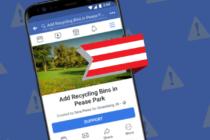 Facebook ra mắt tính năng kiến nghị