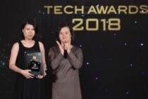 Galaxy Note9 vượt qua iPhone Xs Max tại Tech Awards 2018