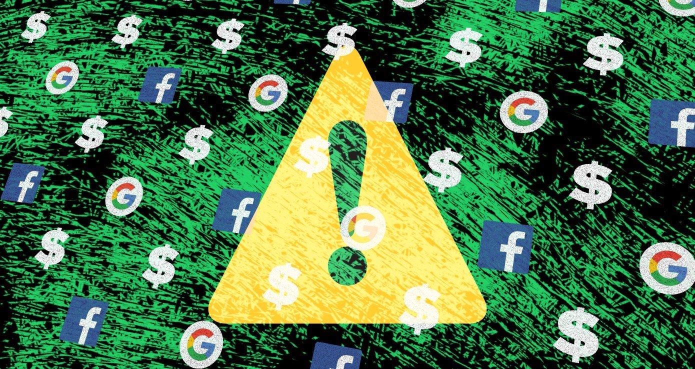 Google và Facebook lơ là kiểm soát quảng cáo khiêu dâm trẻ em
