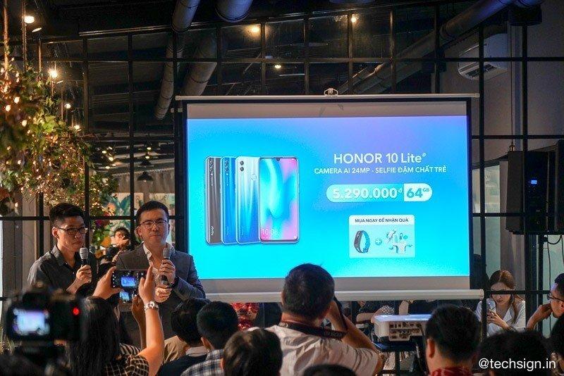Honor 10 Lite lên kệ từ ngày 26/1, giá 5,3 triệu đồng