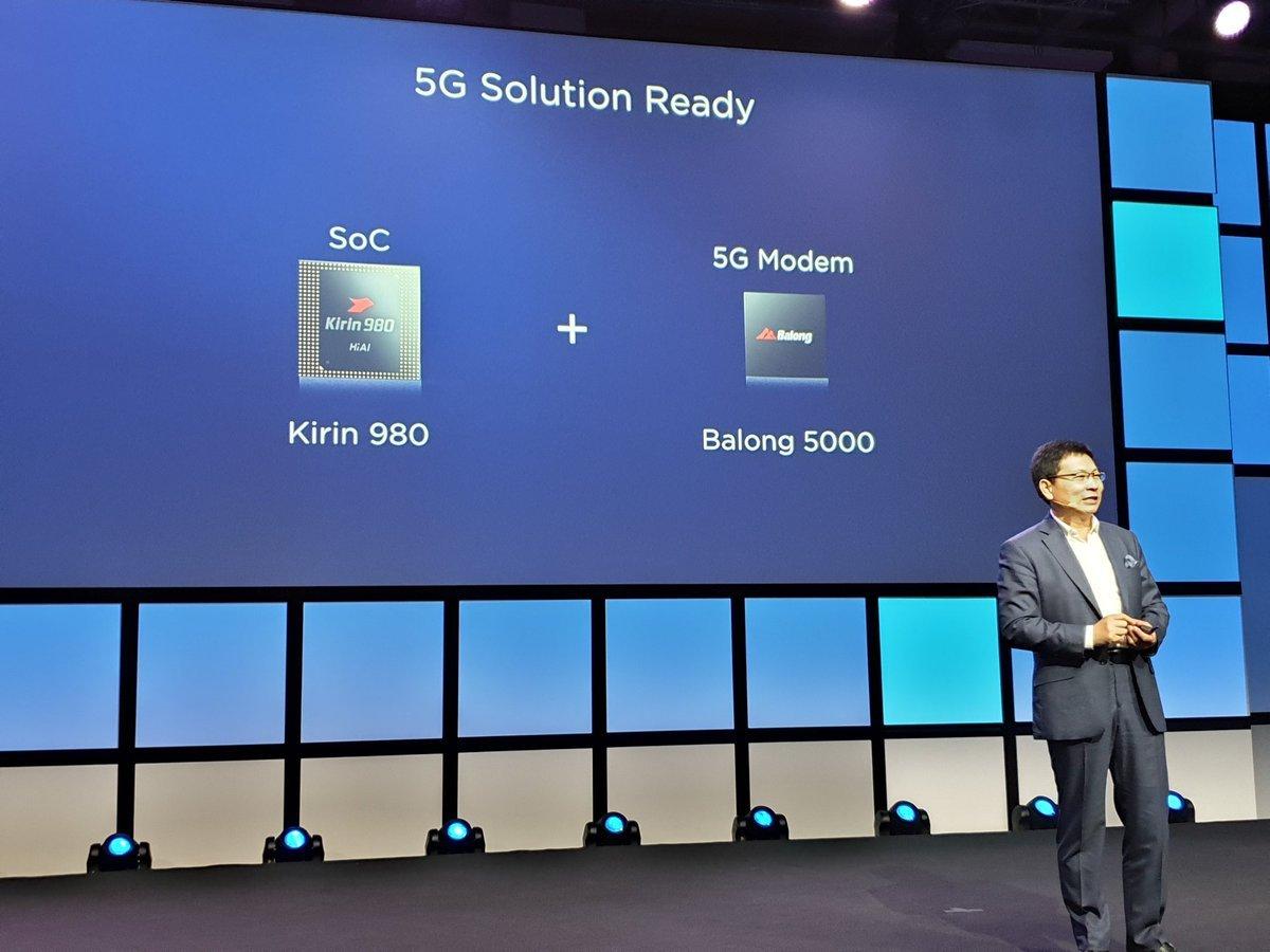 Huawei ra mắt chip và router hỗ trợ mạng 5G