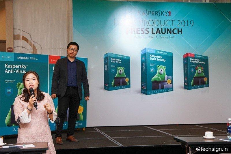 Ra mắt bộ sản phẩm Kaspersky 2019 giúp đảm bảo an toàn trực tuyến