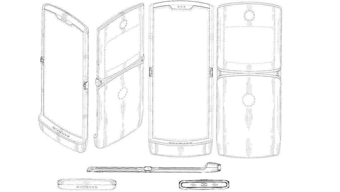 Motorola RAZR sẽ trở lại với thiết kế nắp gập