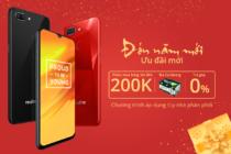 Realme tổ chức khuyến mãi 'đón năm mới, ưu đãi mới'