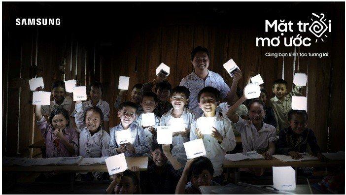 """Samsung ra mắt dự án """"Mặt trời mơ ước - Thắp sáng hy vọng và tương lai cho Tri Lễ"""""""