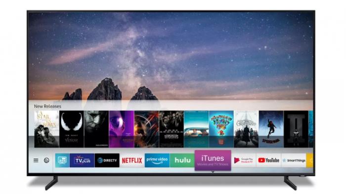 Samsung Smart TV hỗ trợ xem nội dung trên iTunes và loa AirPlay 2