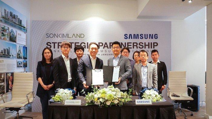 Samsung Vina hợp tác SonKim Land cho dự án Smart Home tại Đông Nam Á