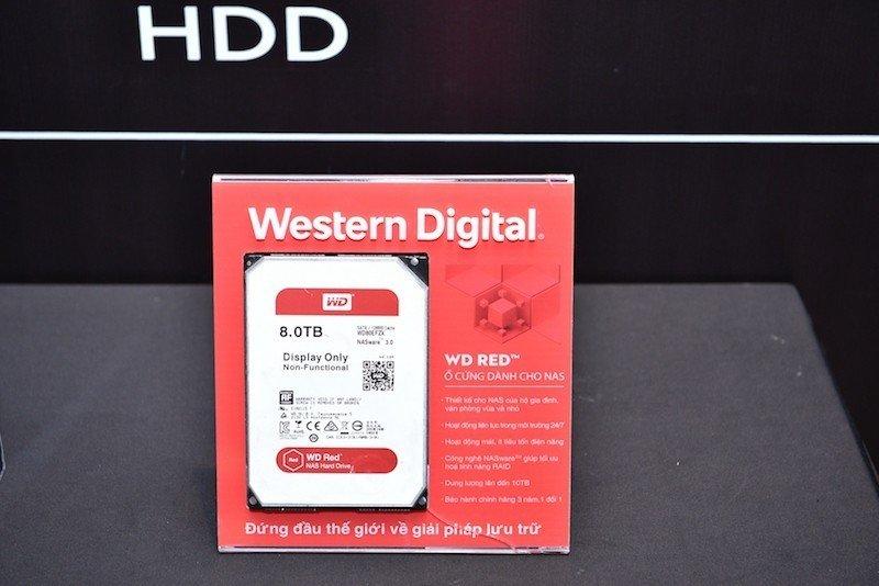 Synnex FPT phân phối sản phẩm lưu trữ của Western Digital