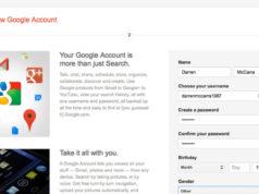 Tạo tài khoản Google trên Android