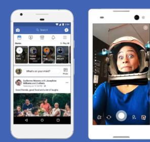 Tinh năng Stories Facebook cải tiến giúp quảng bá sự kiện