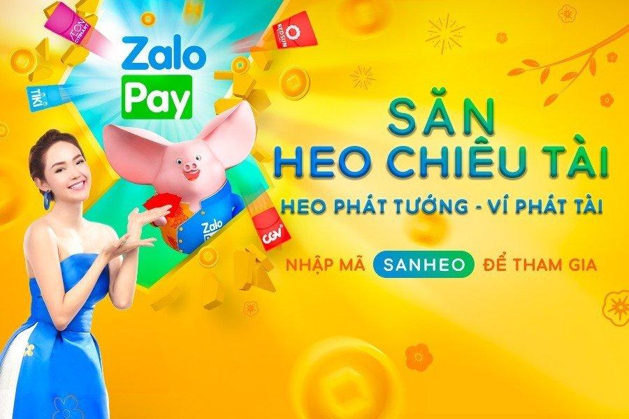 ZaloPay mở chương trình ưu đãi Tết 2019