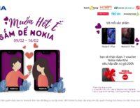 Nokia tung chương trình khuyến mãi nhân dịp Valentine