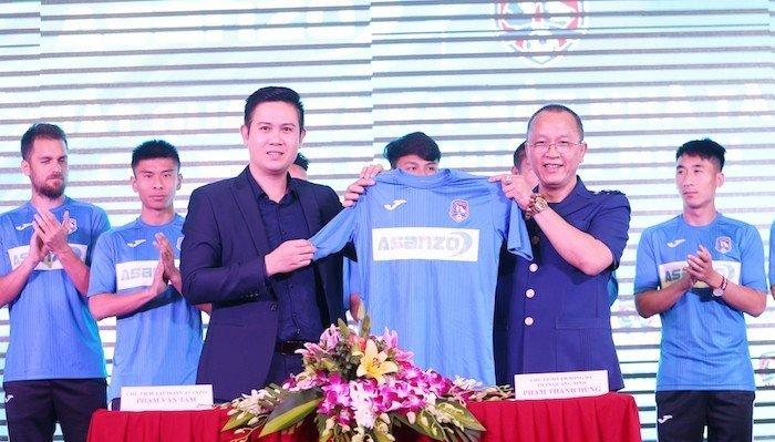 Asanzo tài trợ CLB Bóng đá Quảng Ninh mùa giải 2019