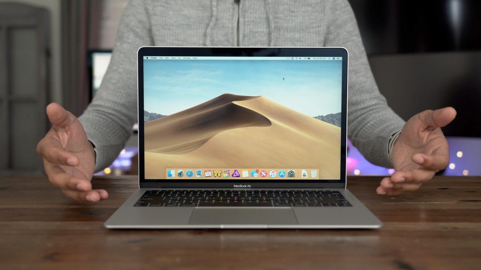Apple đang thử nghiệm Face ID và màn cảm ứng trên máy Mac