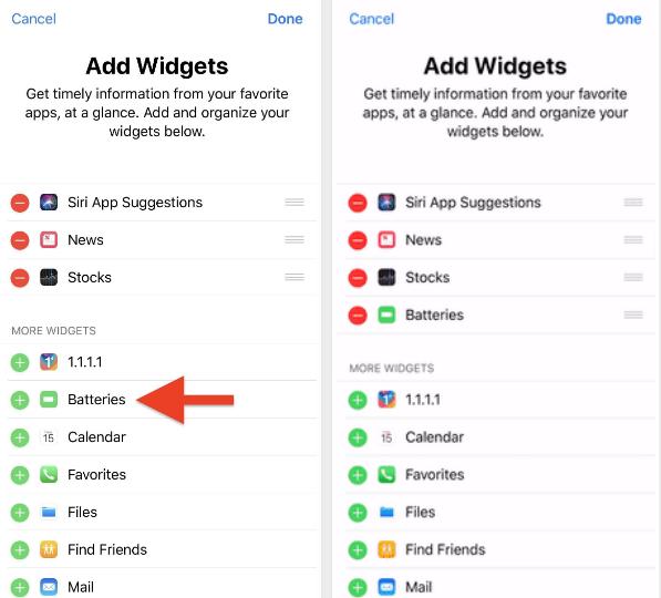 Cách đơn giản theo dõi thời lượng pin tất cả phụ kiện qua iPhone