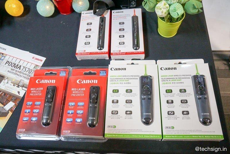 Ra mắt Canon EOS RP và máy in Pixma TS707