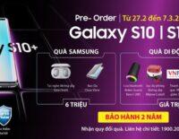 Đặt mua Samsung Galaxy S10/S10+ tại Di Động Việt nhận thêm quà khủng
