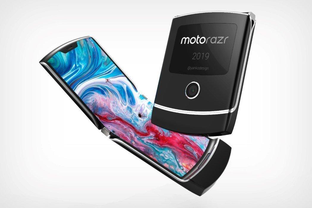 Dự đoán thiết kế của Motorola RAZR 2019 màn hình gập