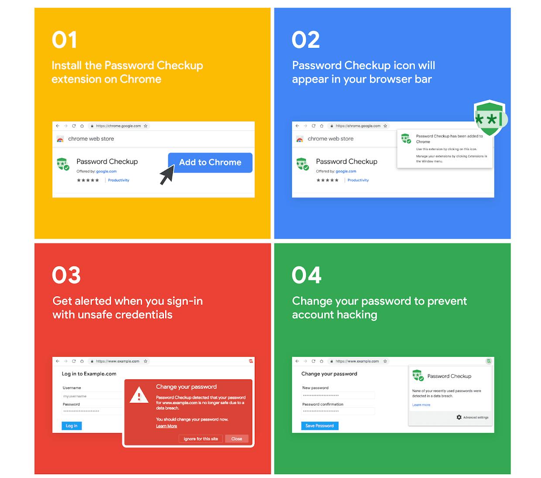 Extension mới của Google giúp cảnh báo mất mật khẩu